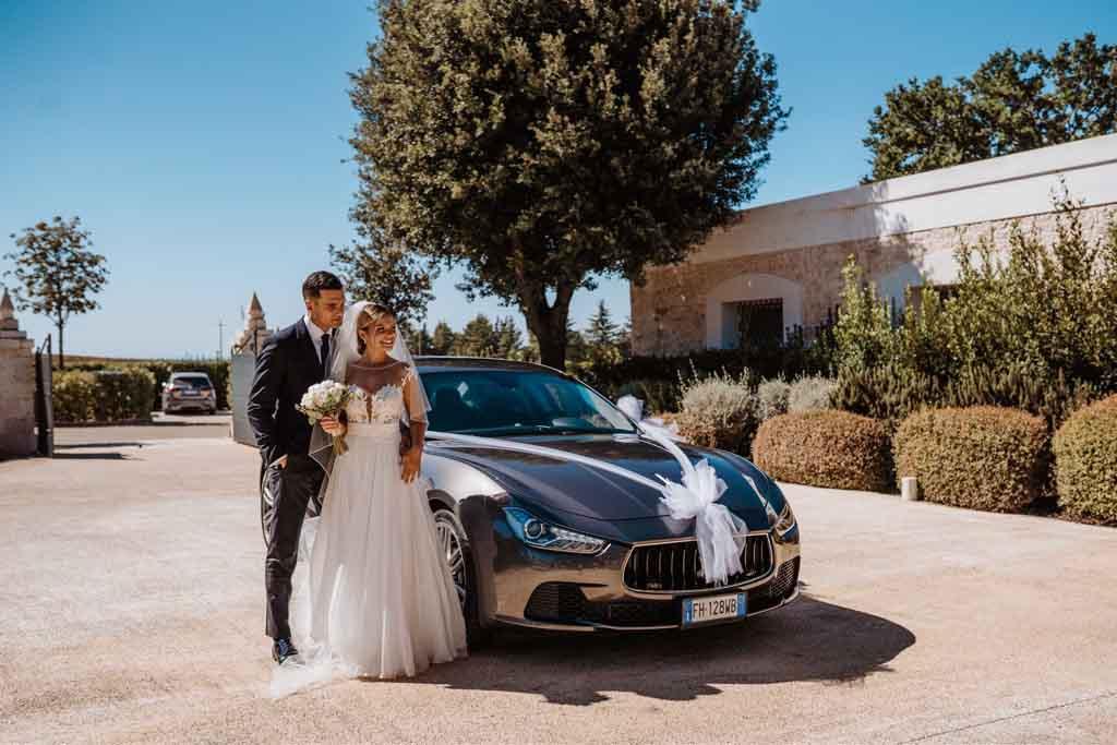 Relais Il Santissimo Arrivo sposi