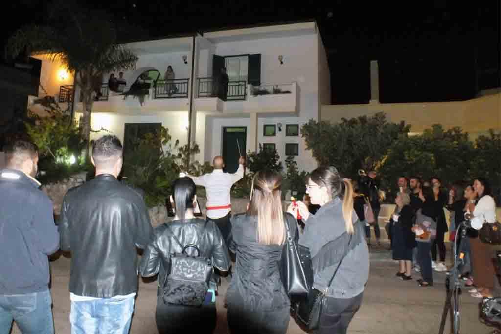 Serenata particolare a Ugento Lecce
