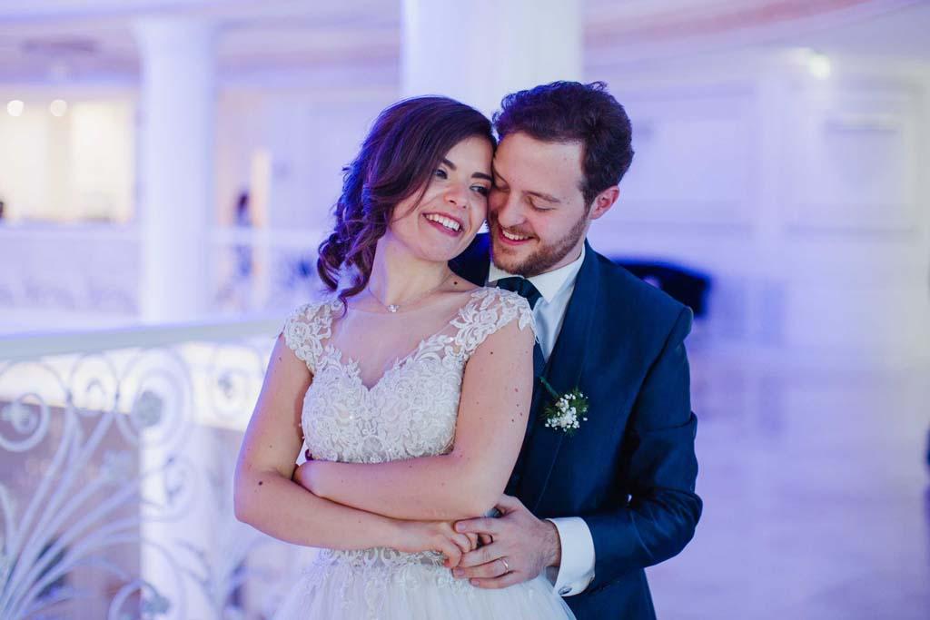 Ballo sposi matrimonio Reggia dei Tessali