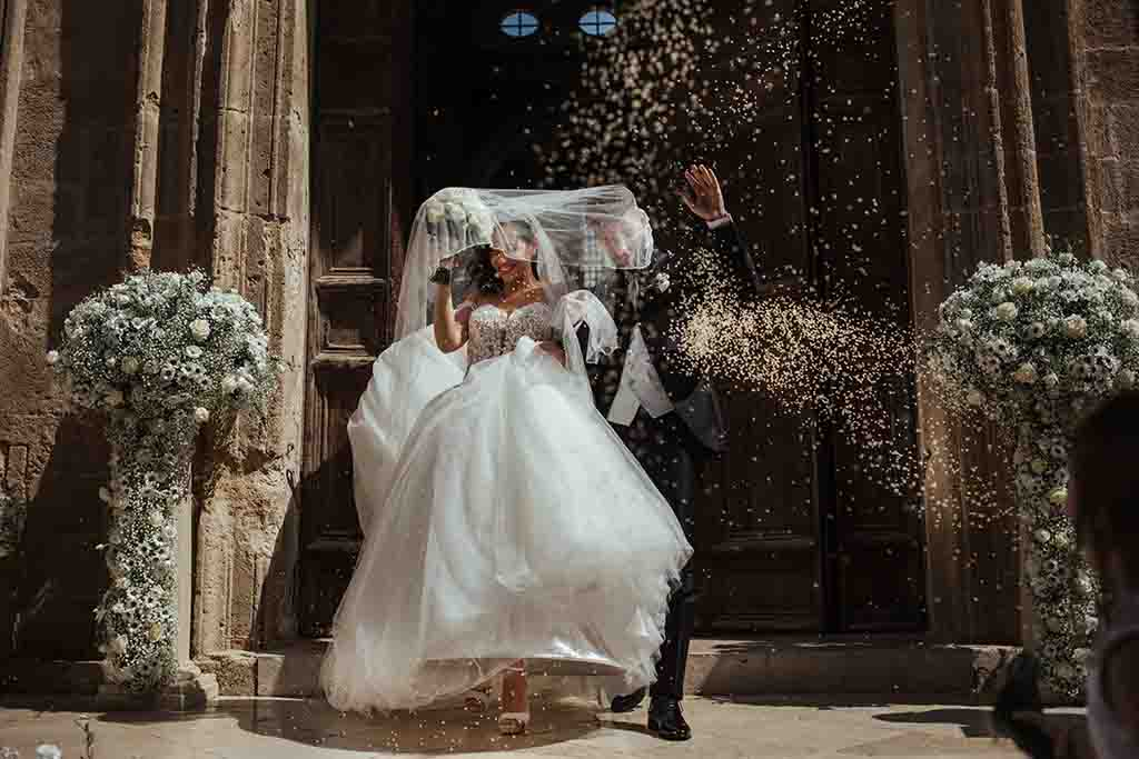 Chiesa Santa Agata Gallipoli Uscita sposi