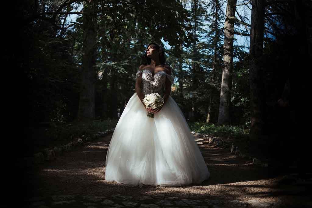 Foto sposa Villa vergine