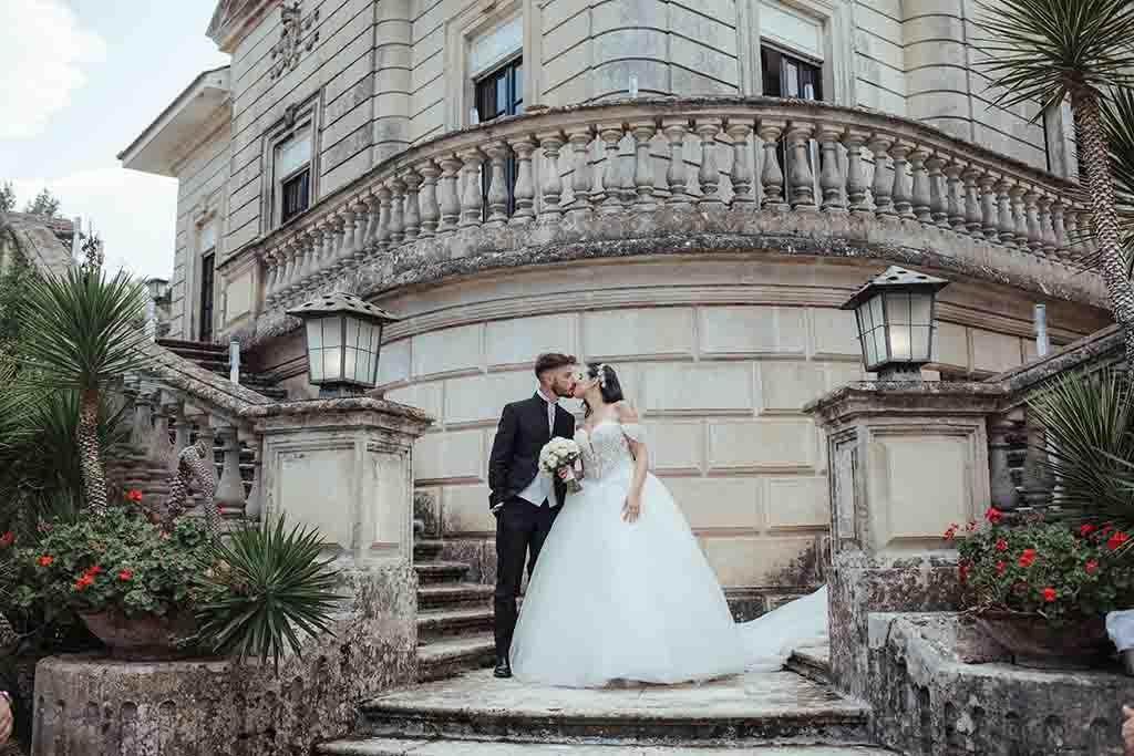 Matrimono a Villa Vergine