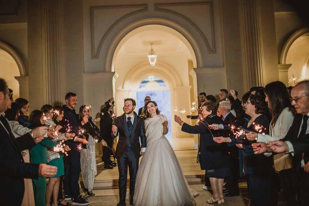 Reggia dei Tessali Arrivo sposi