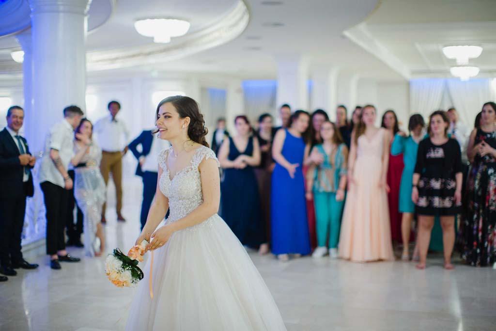 Reggia dei Tessali Lancio bouquet sposa