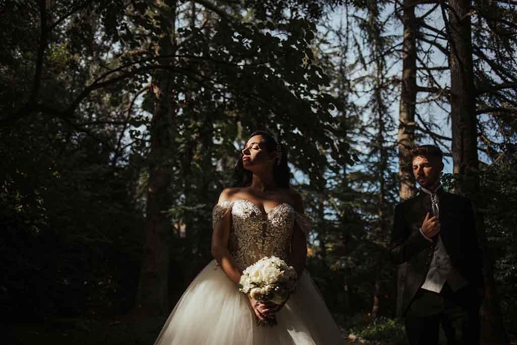 Reportage di matrimonio a Villa Vergine