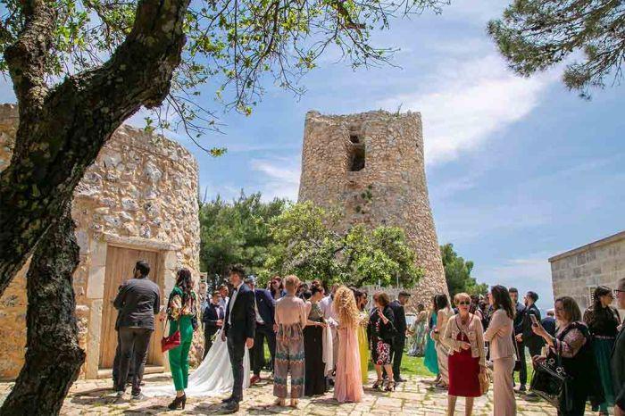 Cala dei Balcani matrimonio