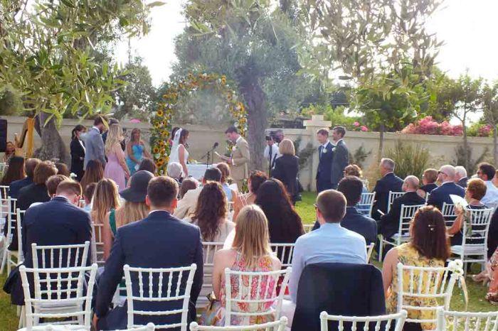 Cerimonia civile matrimonio Fasano
