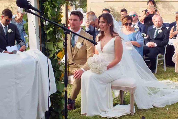 Carimonia civile matrimoni Masseriua La Macina