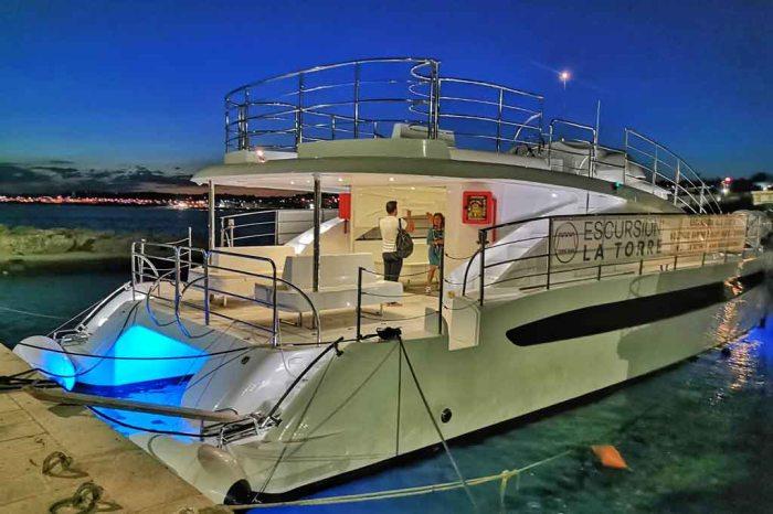 Feste eleganti barche lusso Lecce