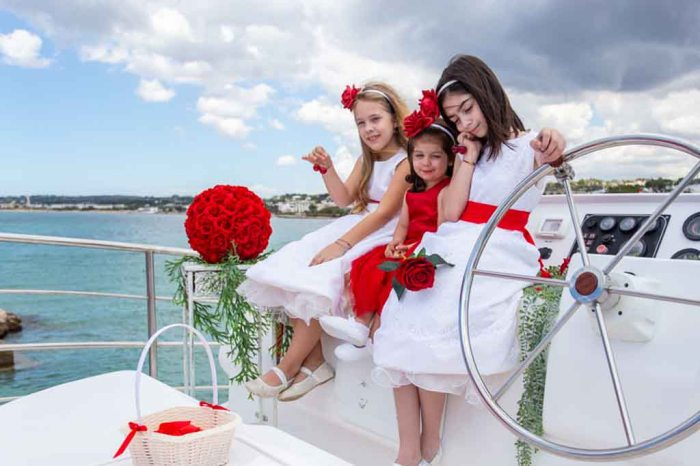 Matrimonio su Yacht Puglia