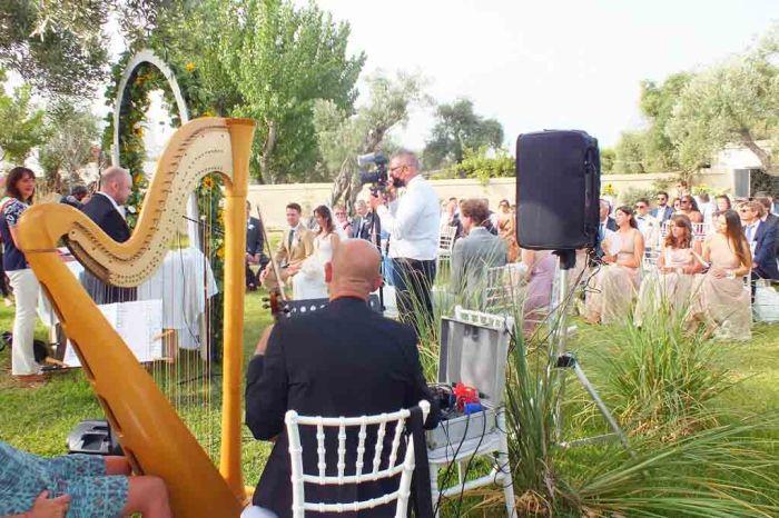 Musica matrimonio Masseria La Macina