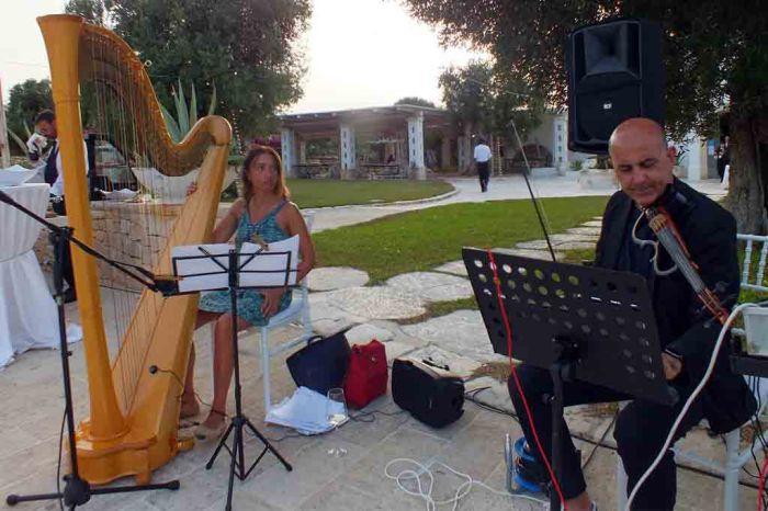 Musicisti matrimonio Masseria La Macina
