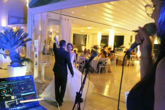 Ballo sposi matrimonio Villa dei Fiori