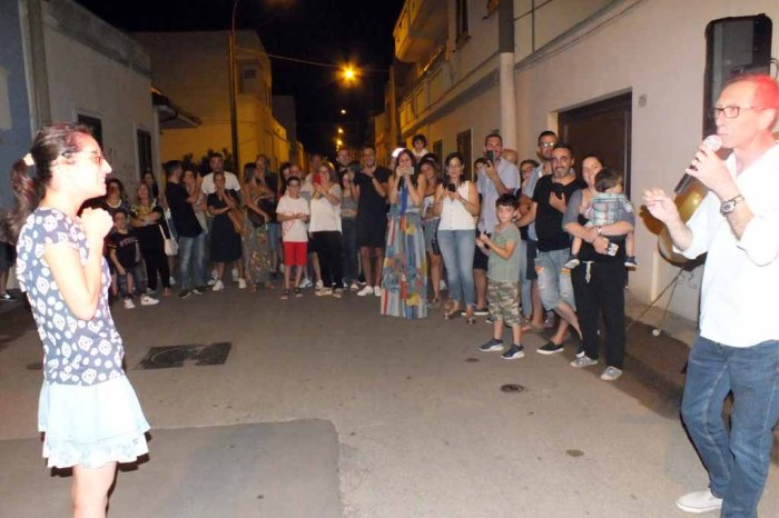 Sorpresa serenata sposa Meissano Lecce