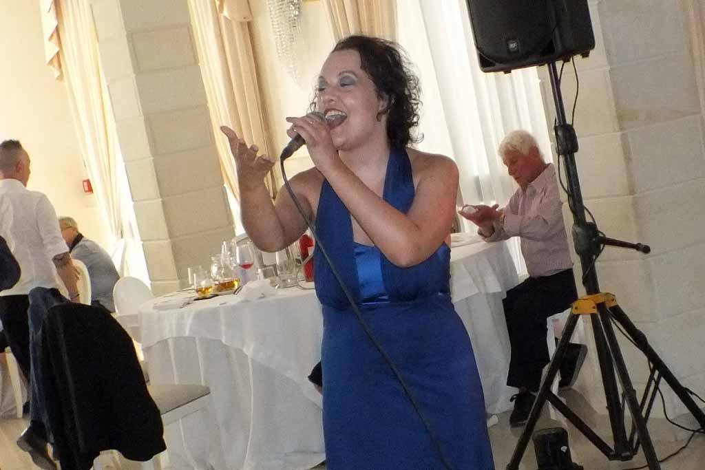 Cantante matrimonio Lecce