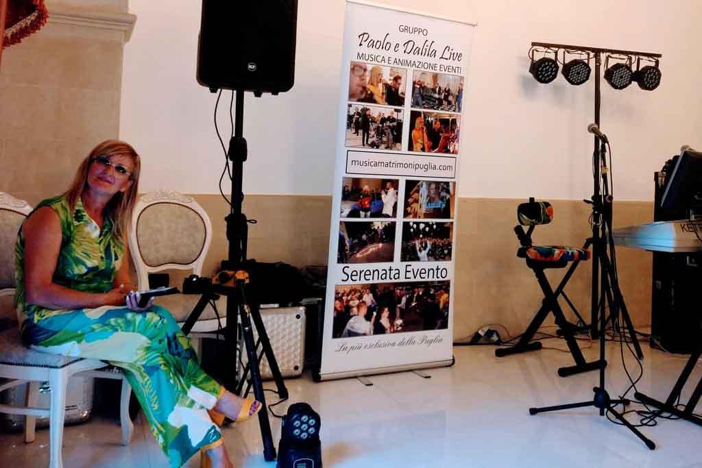 Gruppo musica matrimonio Villa Elda