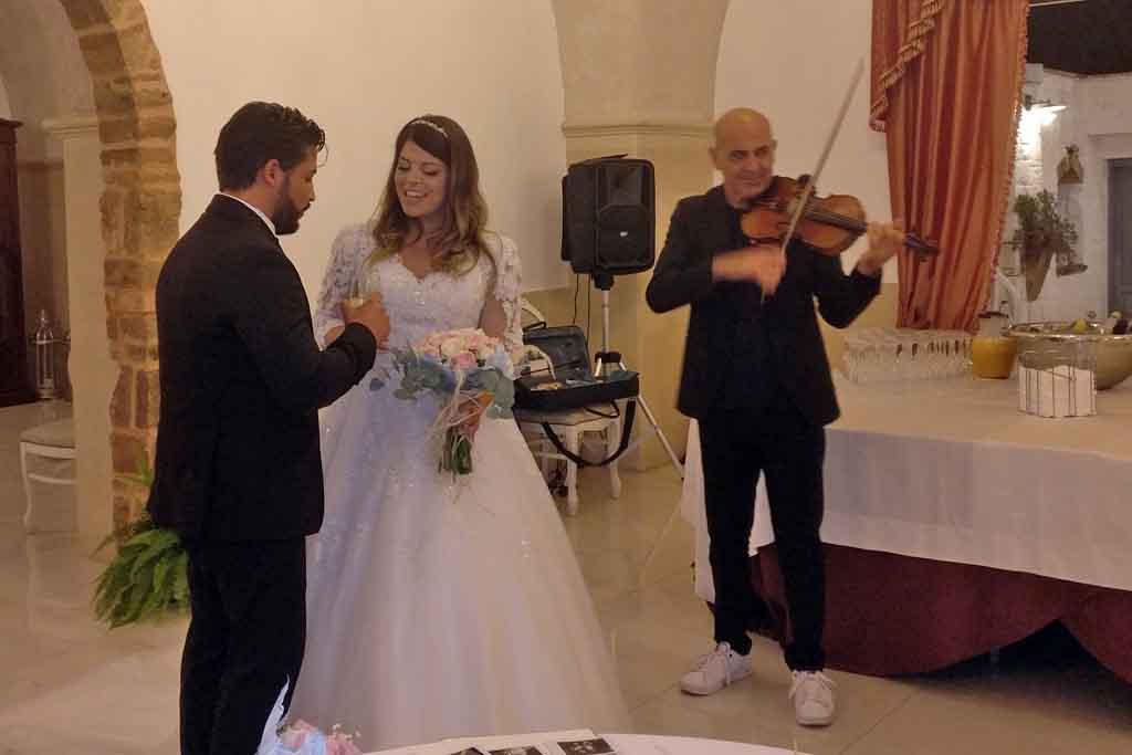 musicisti matrimonio Villa Elda Ugento