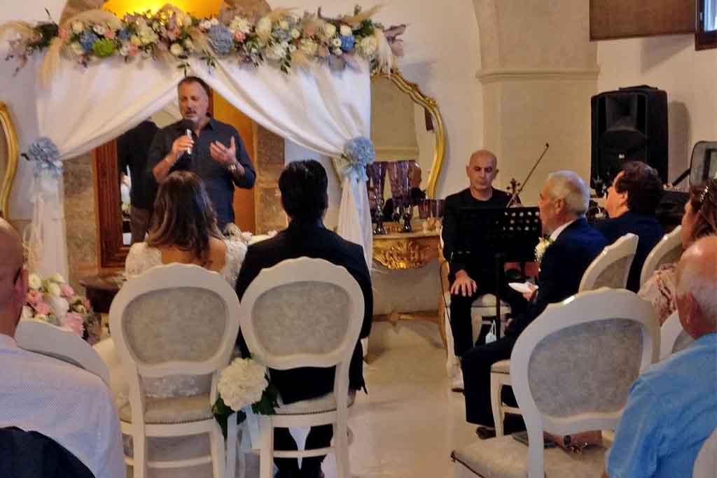 Rito civile nozze Villa Elda