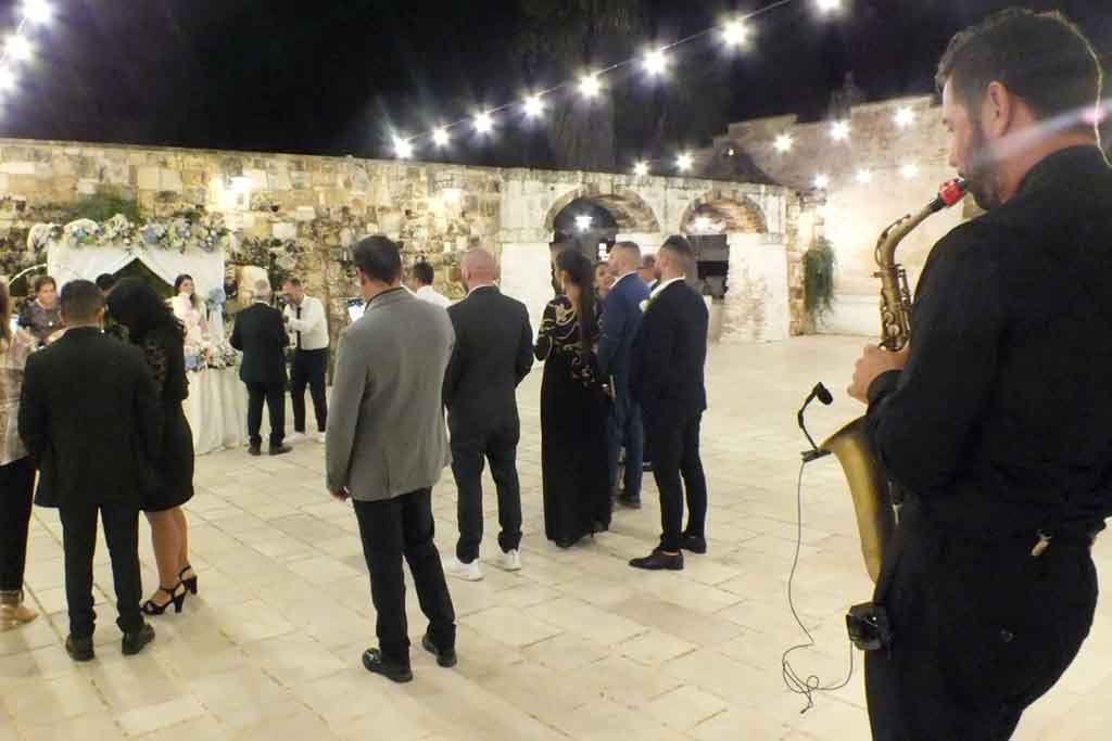 Sassofonista matrimonio Villa Elda Ugento