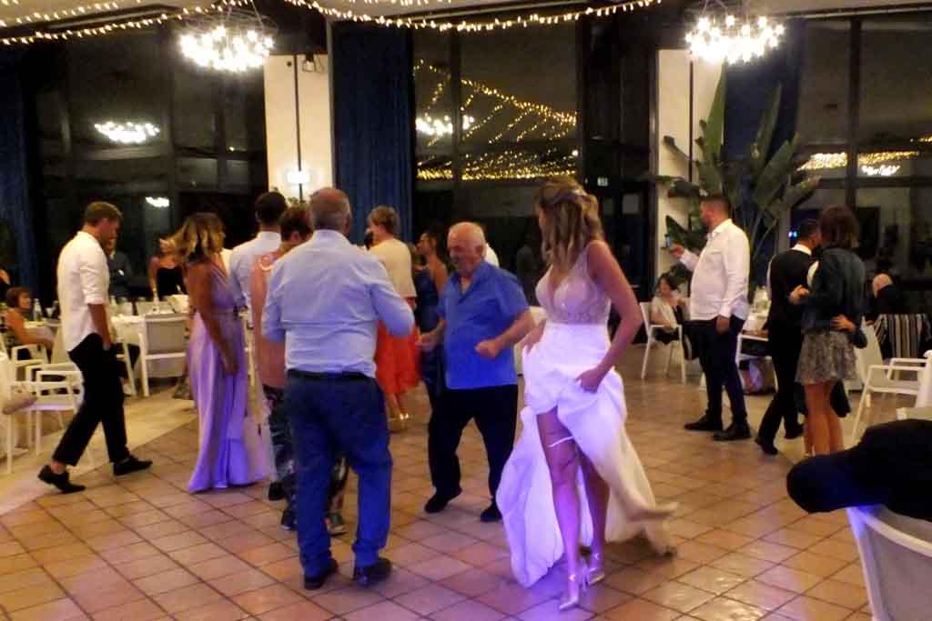 Animazione matrimonio Masseria Santa Lucia Ostuni