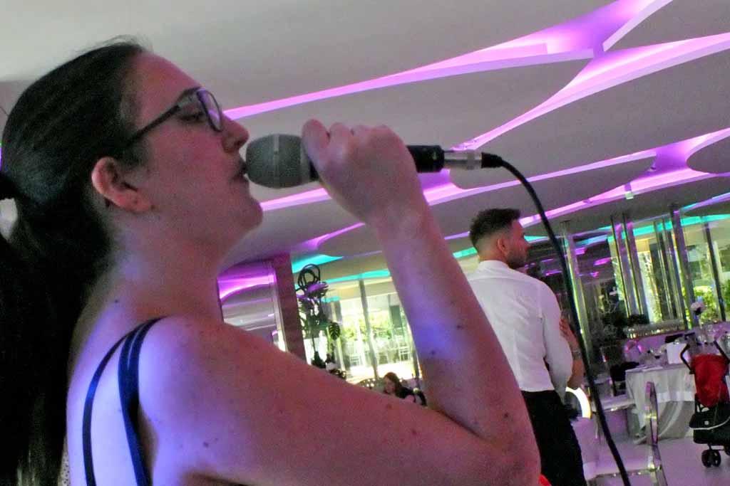 Cantante matrimonio Bari