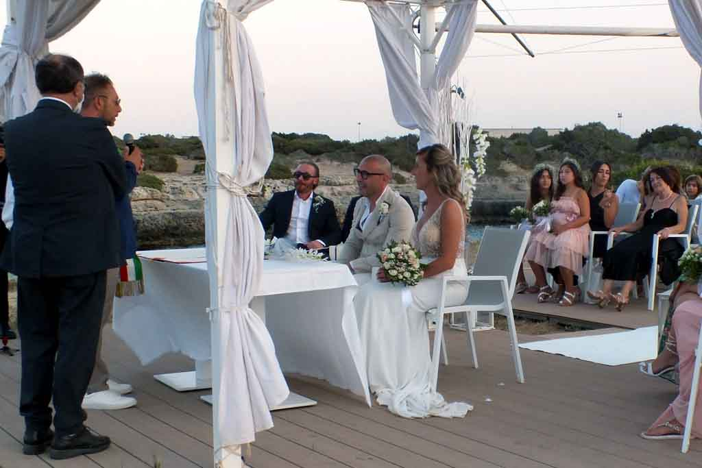 Cerimonia matrimonio Grand Hotel masseria