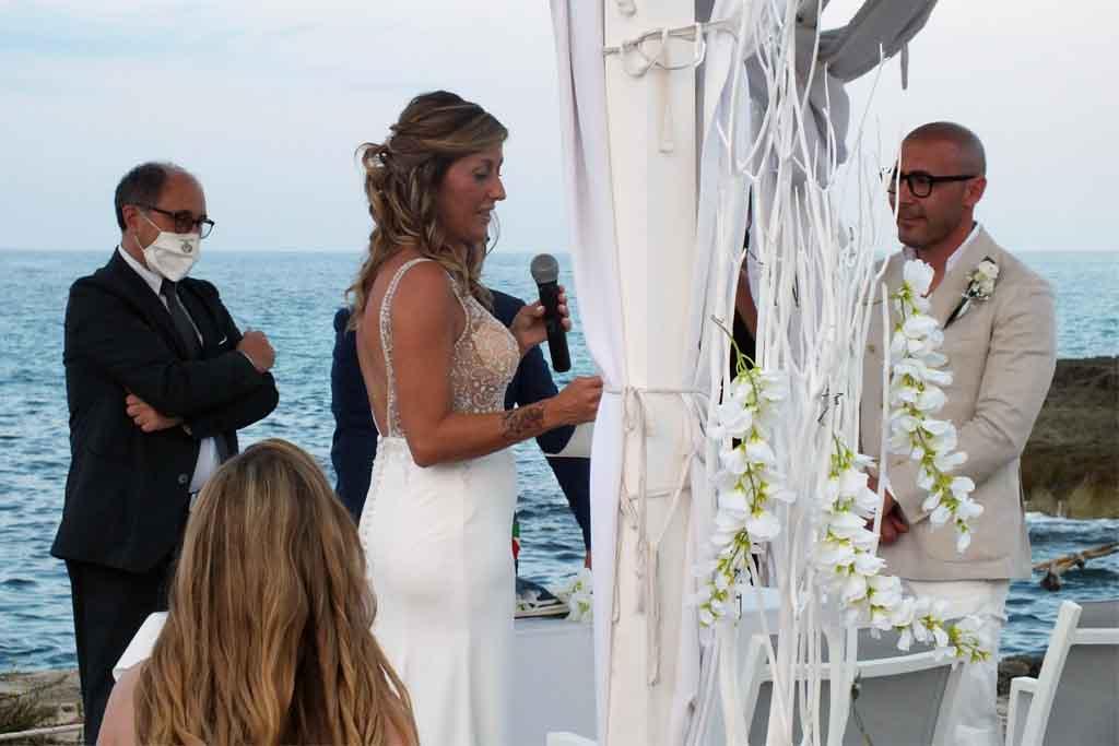 Rito civile matrimonio Masseria Santa Lucia